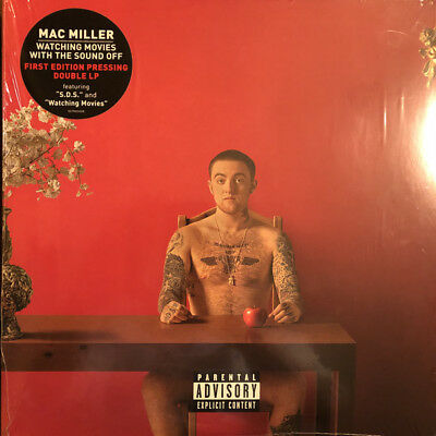 Mac Miller - Watching Movies with the Sound Off (Vinyl LP) BRAND NEW SEALED