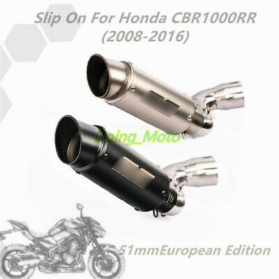 CBR1000RR Exhaust Tip Exaust Pipe Connect Link Pipe for Honda CBR1000RR 2008-16