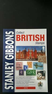 Stanley Gibbons 2019 Collect British Stamps Catalogue