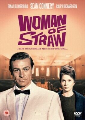 Woman of Straw (DVD, 1964) *NEW/SEALED* 5019322634850, FREE P&P