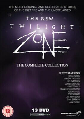 The New Twilight Zone: The Complete Collection (DVD 3 DISC BOX SET, 1989) *NEW*