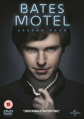 Bates Motel - Season 4 (DVD 3 DISC BOX SET, 2016) *NEW/SEALED* FREE P&P