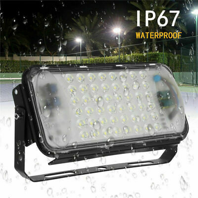 1Pcs 50W 12V LED Inonder Lampe Waterproof Projecteur Iodine Tungsten Outdoor New