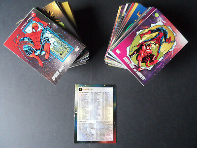 Impel 1992 Marvel Universe Series 3 200 Card Set & Rare 5 Hologram Foil Set