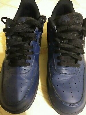 new style a479a 0db85 Nike Air Force 1 Mens shoes Size 10 Navy Blue   Black