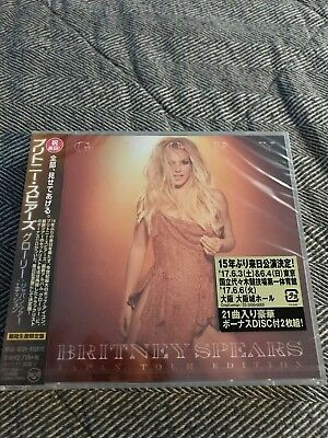 Britney Spears Glory Japan Tour 2 Cd, Obi, Sealed