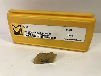 KENNAMETAL NG2125L CARBIDE INSERTS NEW IN BOX