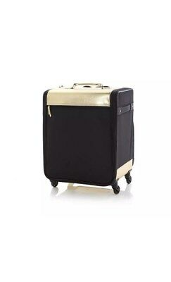 Debbee Flip 'N Pack Expandable Rolling Craft Storage Case Gold Brand New NWT