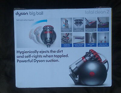 Brand New Dyson CY28 Big Ball Total Clean 2 Cylinder Bagless Vacuum Cleaner