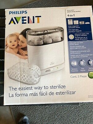 Philips AVENT 3-in-1 Electric Baby Bottle Steam Sterilizer Scf286/05