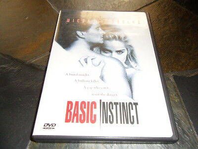 Basic Instinct (DVD, 2003, Special Edition - Rated R) MINT FLAWLESS