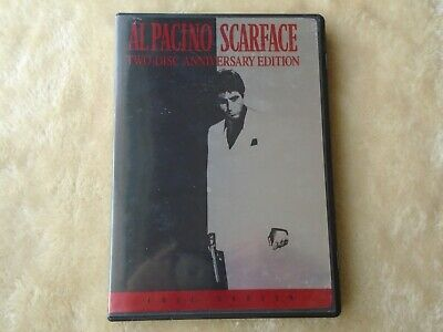 Scarface DVD; Al Pacino, Two-Disc Anniversary Edition