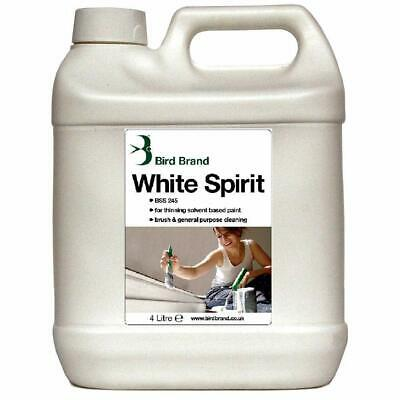 4 Liter White Spirit Used Paint Linseed Oil, Thinning and Brush Cleaning Purpose