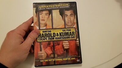 Harold and Kumar Escape from Guantanamo Bay (Unrated Edition) [DVD]