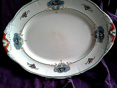 VINTAGE ENGLISH CHINA PLATTER being part of a DINNER SET ( box 14)