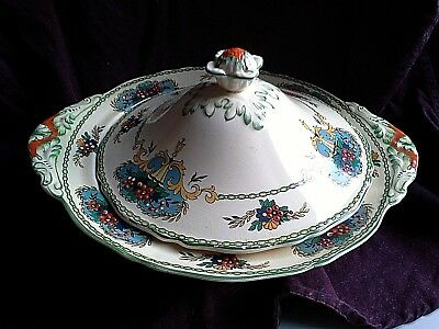 VINTAGE ENGLISH CHINA TUREEN being part of a DINNER SET (my box 14)