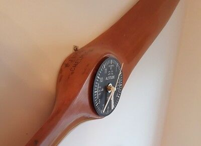 Wooden Aircraft Propeller and Marshalling Wands - Genuine items not imitations