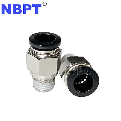 6 mm straight pneumatic PC6  x R1/8  ONE-TOUCH straigh fitting