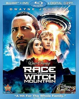 Race To Witch Mountain Blu Ray DVD + Digital CopyVERY GOOD COND DISNEY