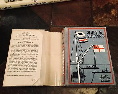 All about Ships & Shipping. Harnack. 1935. A Handbook Of Popular Nautical Info.