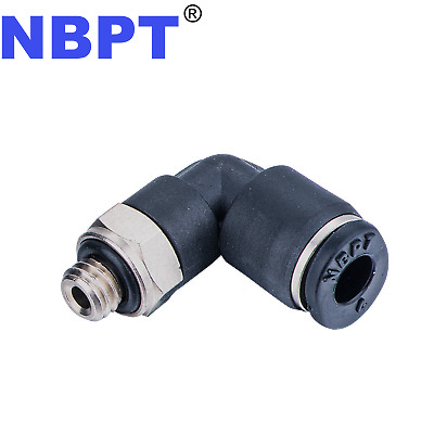One Touch Push to connect fitting Male Elbow PL06-M5,NBPT 10