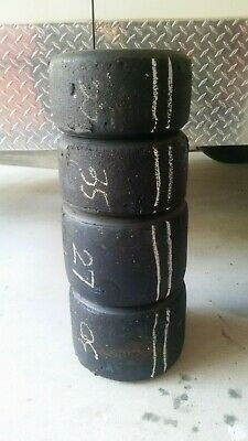 Go Kart - Tyres MG Yellow 1 set USED in good condition #2
