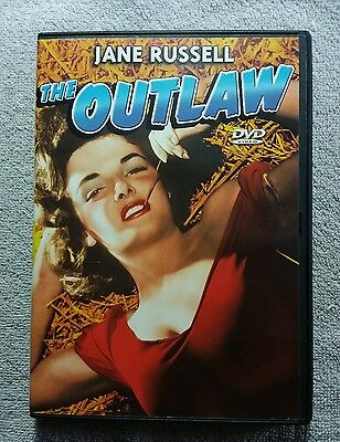 The Outlaw Dvd (1943) Debut Of Jane Russell B&w *region Free* & Ships Worldwide