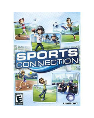 ESPN Sports Connection (Nintendo Wii U, 2012) Complete CIB With Manual