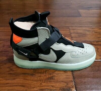 the latest 4bd94 c57a0 NIKE AIR FORCE 1 UTILITY MID Size (Mens 10- Wmns 11.5) AQ9758 300
