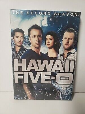 Hawaii Five-0: The Second Season (DVD, 2012, 6-Disc Set)Brand New Factory Sealed