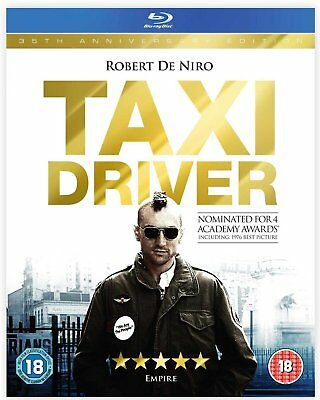 Taxi Driver - 35th Anniversary Edition (Blu-ray, 1976, Region Free) *NEW/SEALED*