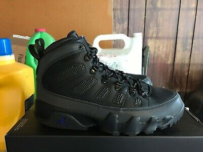 check out fe59b 12d75 NEW NIKE AIR Jordan Retro 9 NRG Boot 3M BLACK CONCORD WINTER ...