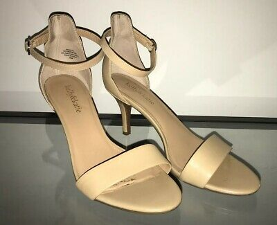 a741dd93d9b Kelly   Katie Womens Kirstie Open Toe Ankle Strap Classic Natural Size 8.5 M