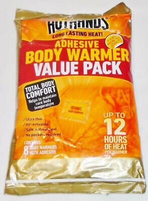 HotHands Body Warmer with Adhesive 8 Warmer Value Pack by HotHands