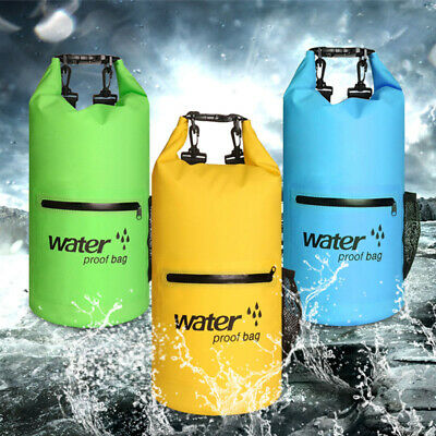 1* Outdoor Waterproof Canoe Swimming Camping Hiking Large Backpack Dry Bag Pouch