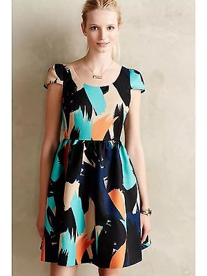 c7213a4cd48b6 NIB ANTHROPOLOGIE PINION Dress Size 6P Petite by Moulinette Soeurs ...
