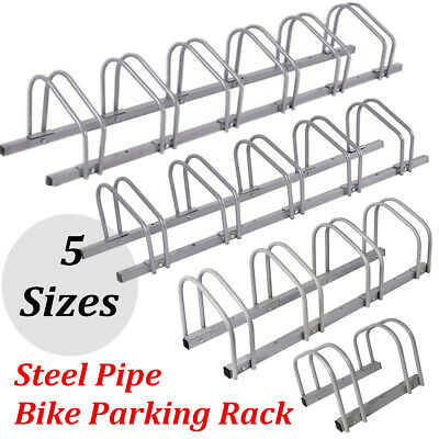 New 1–6 Steel Pipe Bike Floor Wall Mount Parking Rack Portable Storage Stand