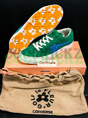 f7996d1c00de Tyler The Creator x Converse One Star Golf Le Fleur Wang Size 12 Green  160332C