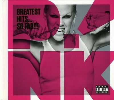P!nk (Pink) - Greatest Hits...So Far!!! (2 Disc CD + DVD, Deluxe Edition) CD NEW