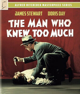 The Man Who Knew Too Much (1956 James Stewart) BLU-RAY NEW