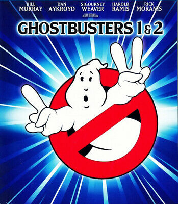 Ghostbusters 1 (1984) / 2 (DigiBook, 2 Disc, Mastered in 4K) BLU-RAY NEW