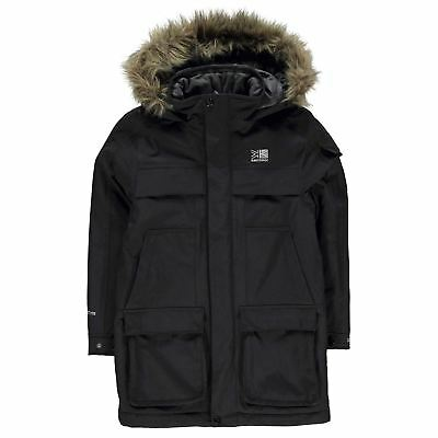 Karrimor Parka Winter Girls Jacket Black 9-10 Years (MG) B01