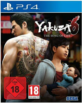 Yakuza 6 - Essence of Art Edition (PS4) (NEU & OVP) (UNCUT) (Blitzversand)