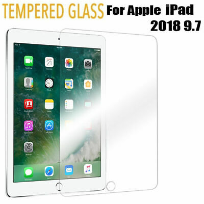 iPad 2018 Screen Protector Tempered Glass Film for Apple iPad 6th Generation 9.7