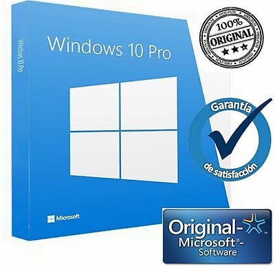 Windows 10 Pro Professional 32/64 Bit Codice Originale Esd Licenza