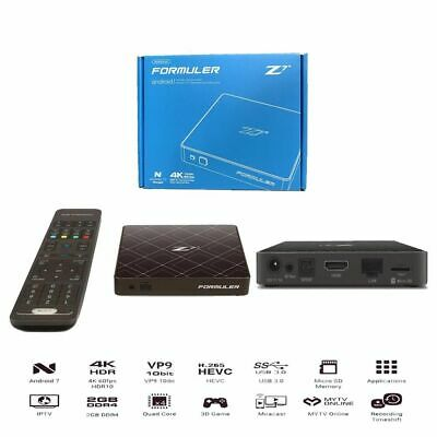 Formuler Z7+ Plus 4K IPTV Quad Core 2GB DDR4 Android 7.1 + Wifi  + IR Extend