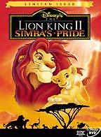 The Lion King II: Simba's Pride (Limited Issue) AMAZING DVD IN PERFECT CONDITION