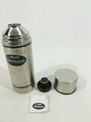 NEW Stainless Steel Vacuum Thermos Thermal Flask 0.45Ltr Army Surplus