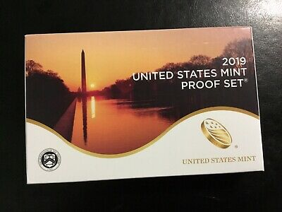 New 2019 S United States Mint Proof Set 10 Coin Straight From US Mint; Beautiful