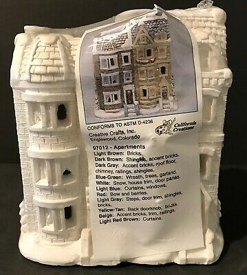 Vintage California Creations 97012 Apartments Creative Crafts New Sealed RARE